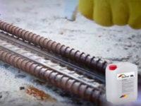 Удаление ржавчины с арматуры