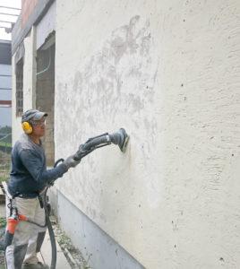 как быстро избавиться от краски на стенах