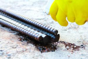 обработка арматуры от ржавчины