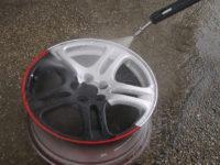 как смыть краску с дисков