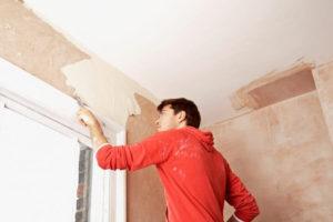 как снять водоэмульсионную краску со стен