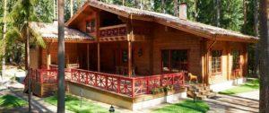 как очистить деревянный дом от краски