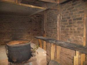 как очистить стены в бане