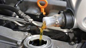 как удалить машинное масло