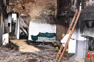 как отмыть после пожара копоть