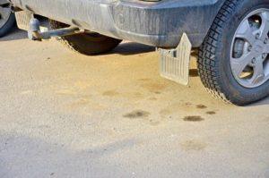 как убрать масло с бетона