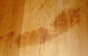 как убрать масло с деревянного пола
