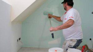 как удалить водоэмульсионную краску со стен
