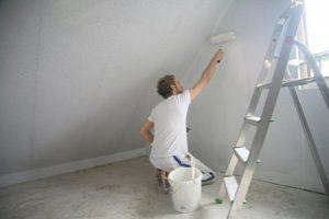 как удалить водоэмульсионную краску со стены