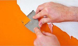 обновить стены снять старую краску