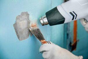 как удалить фасадную водоэмульсионную краску со стен