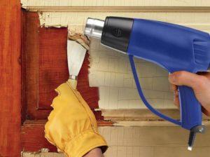 как удалить старую масляную краску с дерева