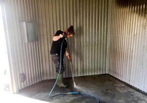 моющие средства после пожара