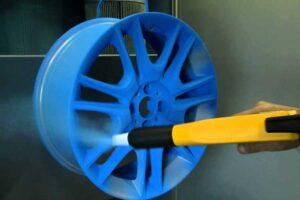 очистка дисков от краски