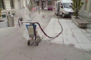 чем убрать масло с бетона
