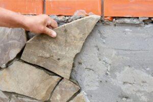 как очистить камень от цемента