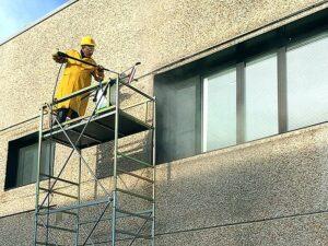 очиститель фасадов